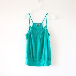 Roxy Tank - Size Medium - Aqua/Teal